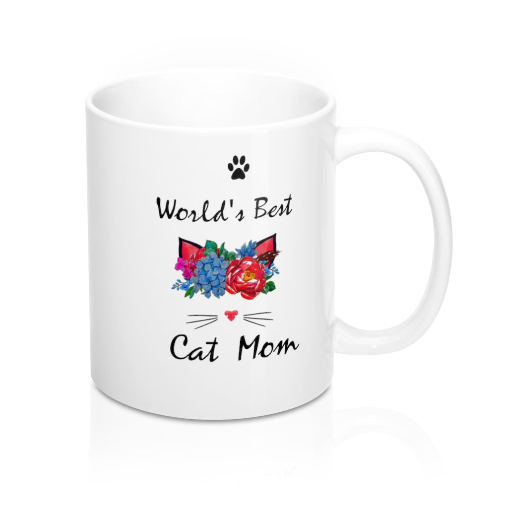 World's Best Cat Mom Mug 11oz
