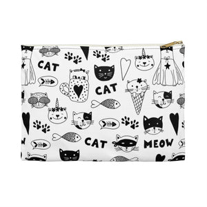 Fun Cat Pattern Pouch