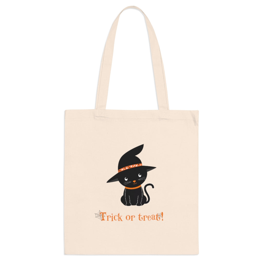 Trick or Treat Black Kitten Bag