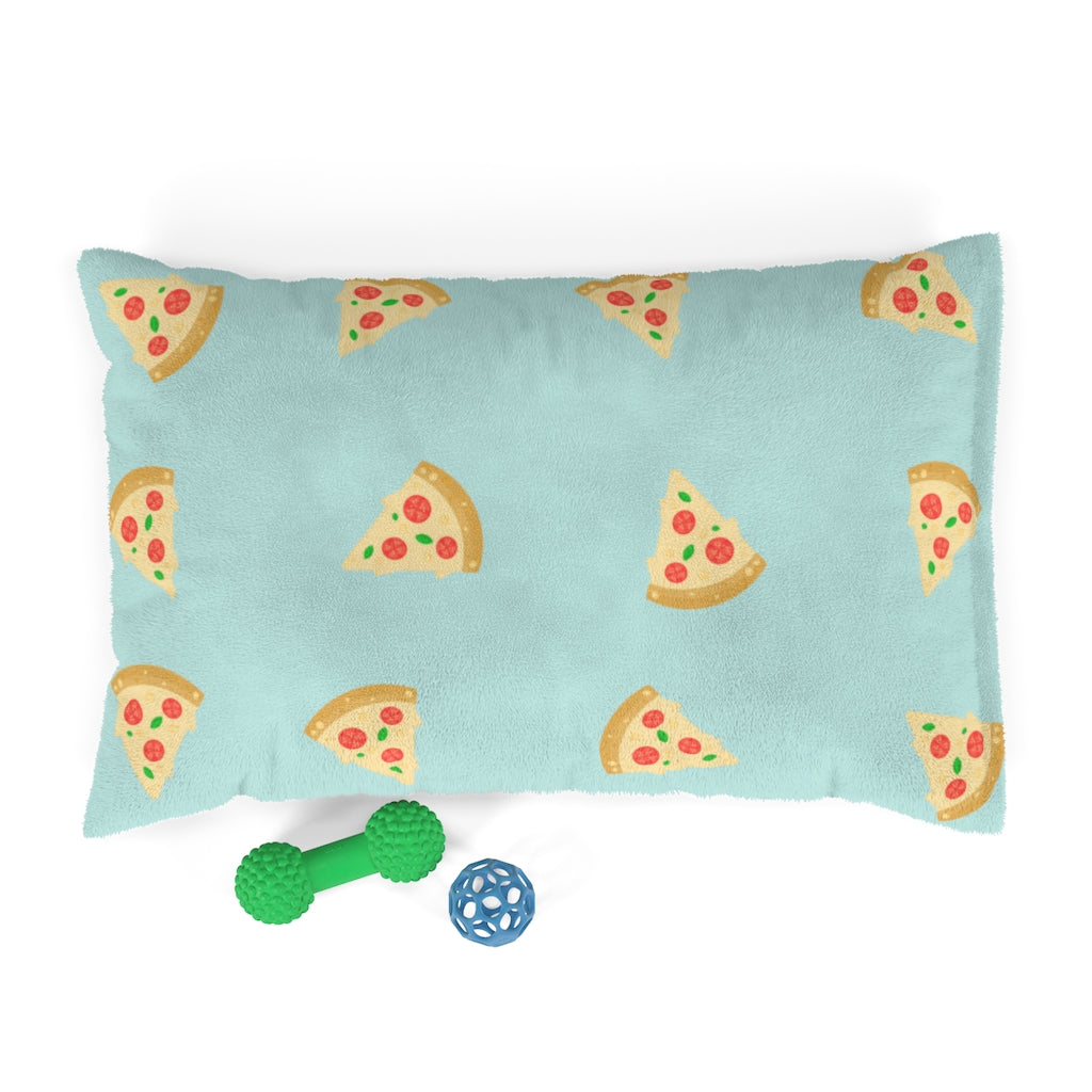 Pizza Love Cat Bed