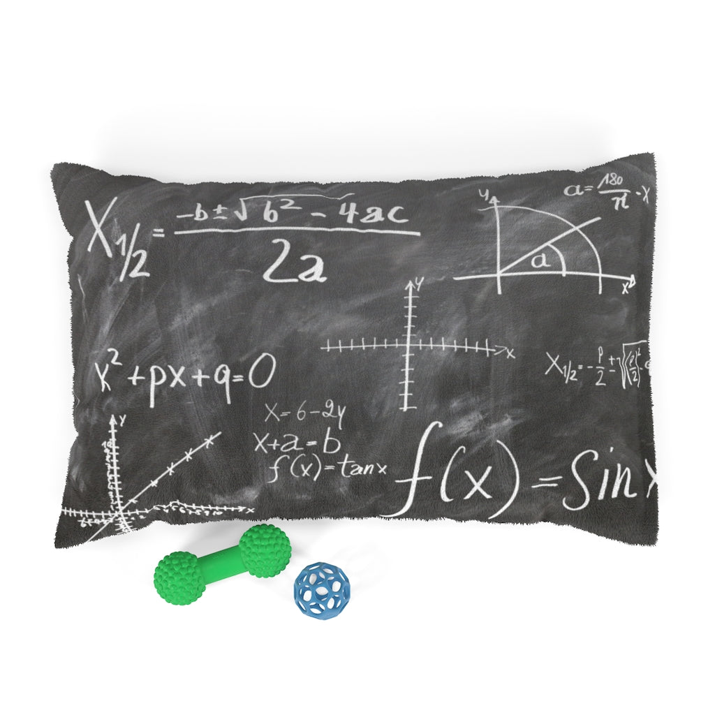 Math Lover Cat Bed