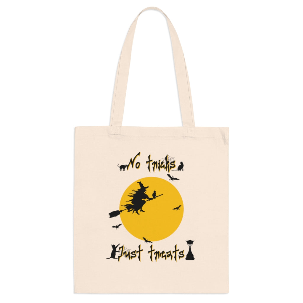 No Tricks, Just Treats Halloween Bag