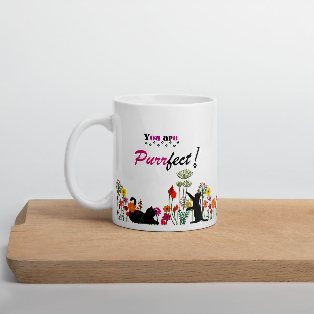Purrfect Cat Mom Mug 11oz