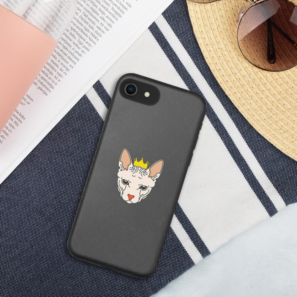 Sphynx Cat Biodegradable iPhone Case