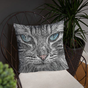 Tabby Cat Pillow