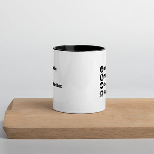 Cat Owner Schedule Mug
