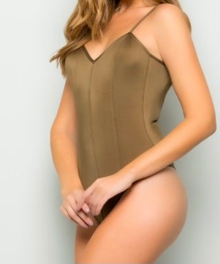 Paneled Bodysuit