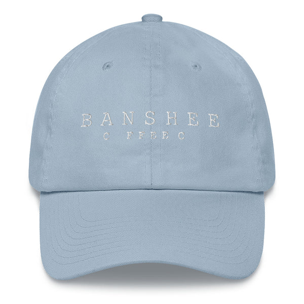 Dad Hat - White Stitched