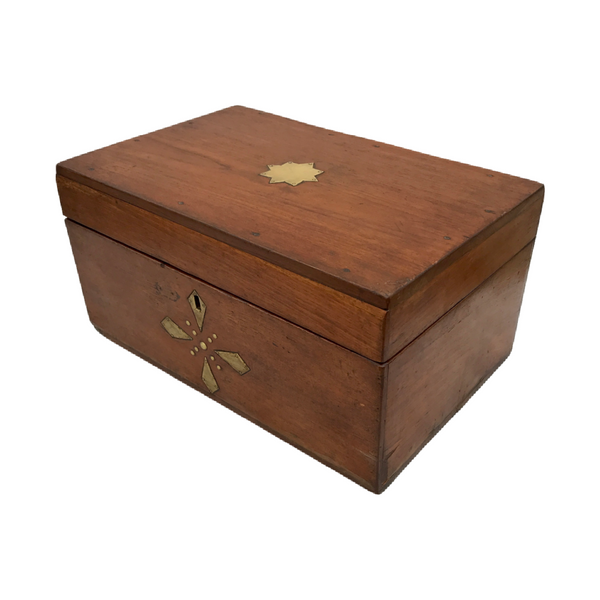 ANTIQUE INDIAN JEWELLERY BOX (W50CM | H22CM)