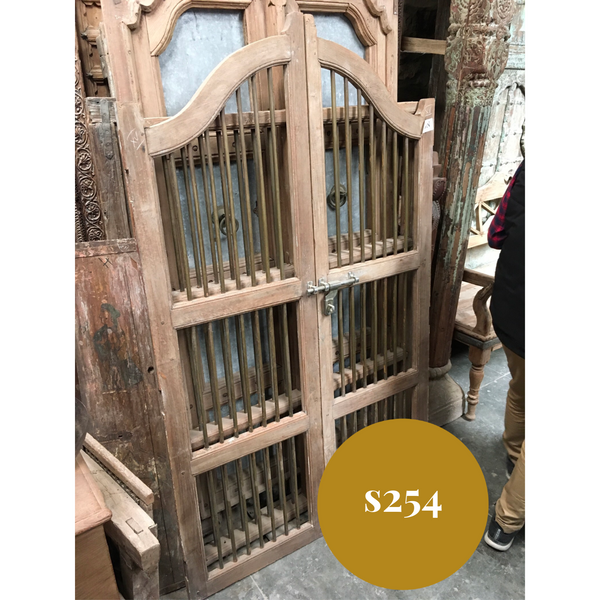 Vintage Indian Garden Dog Gate