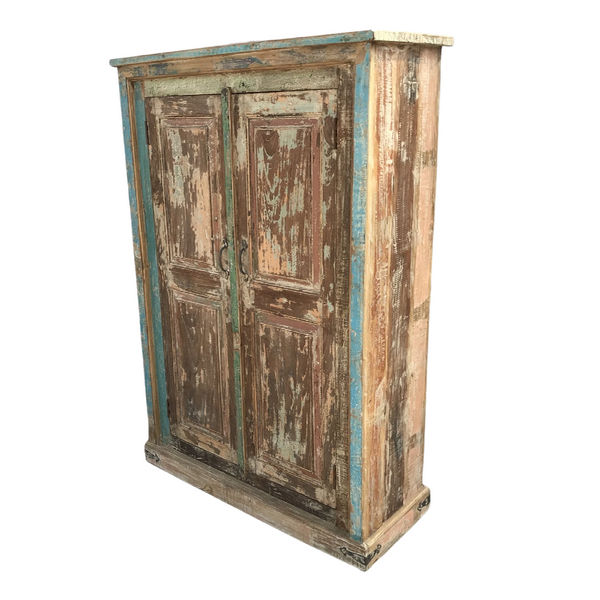 RECLAIMED WOOD PAINTED CABINET (H152cm | W103cm)