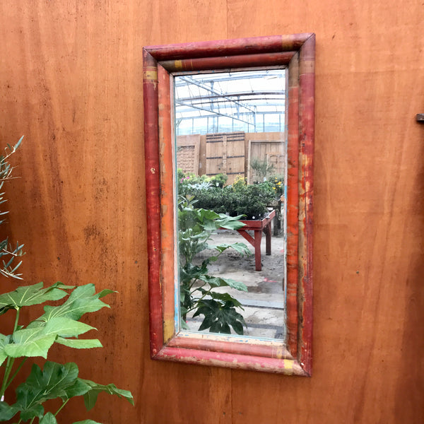 RECLAIMED INDIAN BAMBOO MIRROR (HCM | WCM)