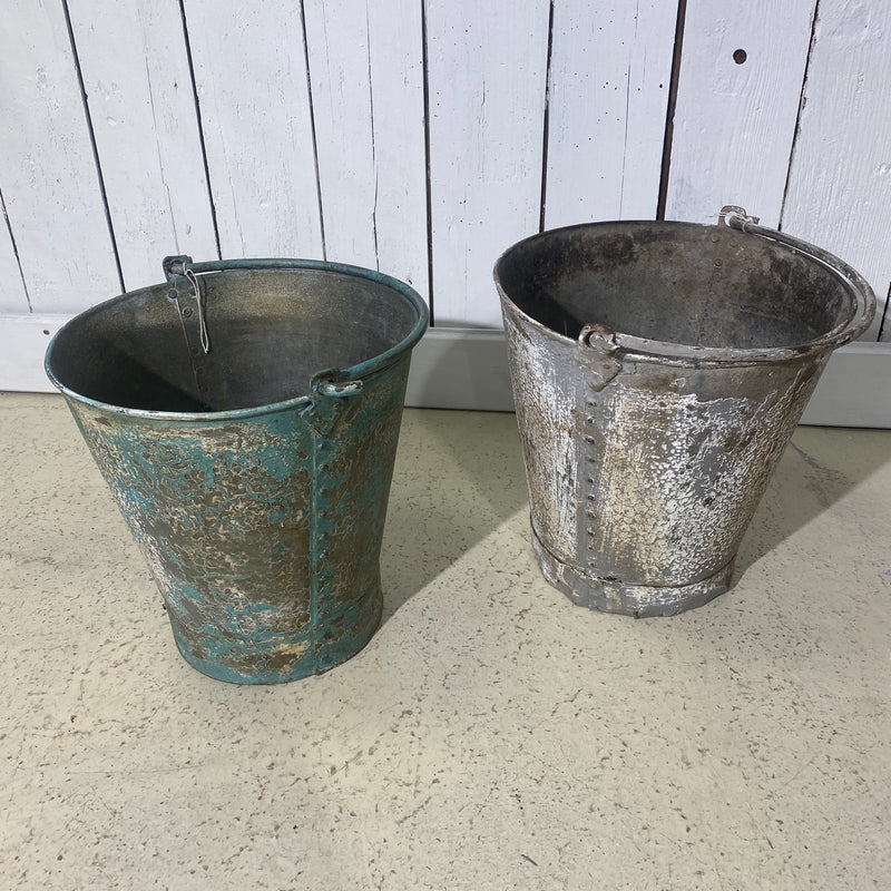 MEDIUM PAINTED BUCKET | Ø30CM  H30CM