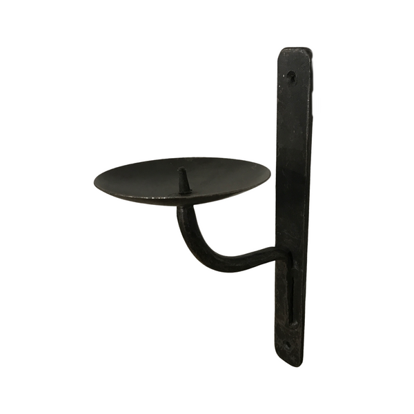 CAST IRON WALL CANDLE HOLDER (H26CM | W10CM)