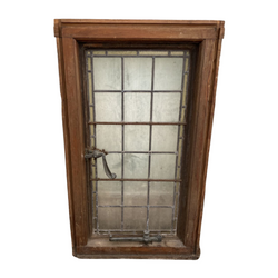VINTAGE STAINED GLASS WINDOW (H102cm | W59cm)