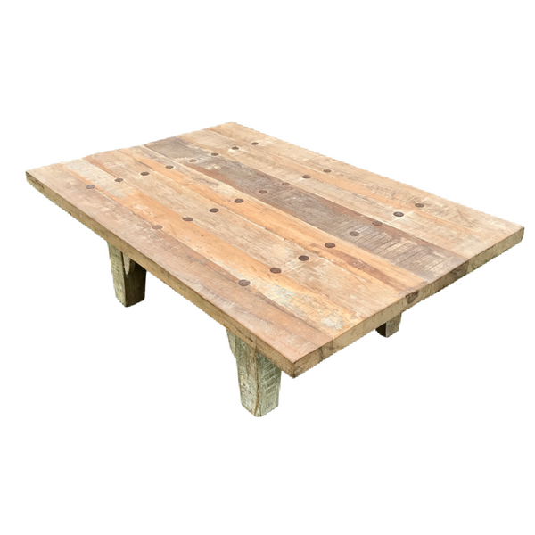 Reclaimed Indian teak wood table | 41210 W