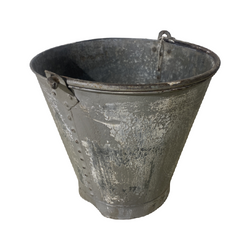 LARGE PAINTED BUCKET | Ø36CM H34CM