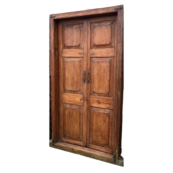 Vintage Indian Teak Door (H212cm | W114cm)
