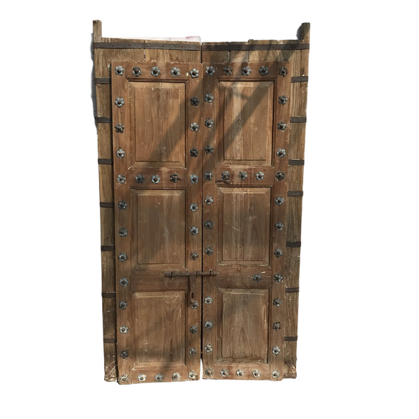 Vintage Indian Studded Door (H201cm | W118cm)