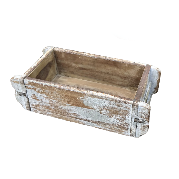 RECLAIMED PAINTED INDIAN BRICK MOULD | SINGLE (W30CM | H9CM)