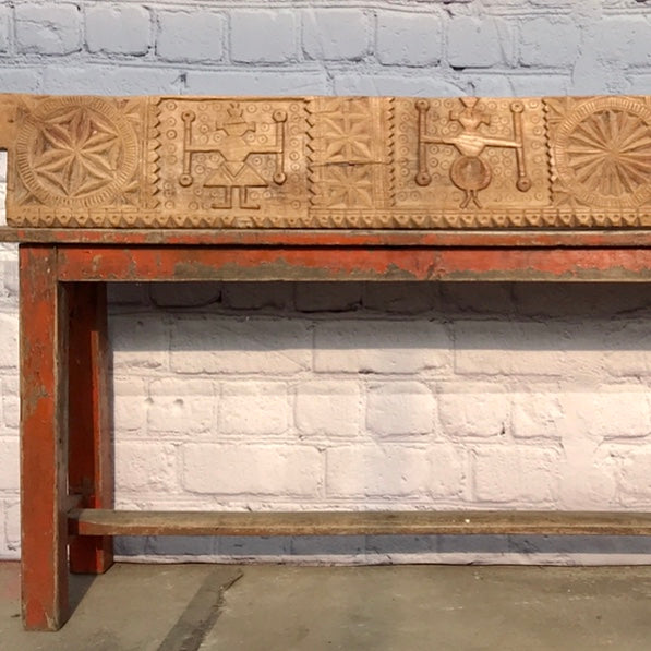 Decorative carved architectural panel
