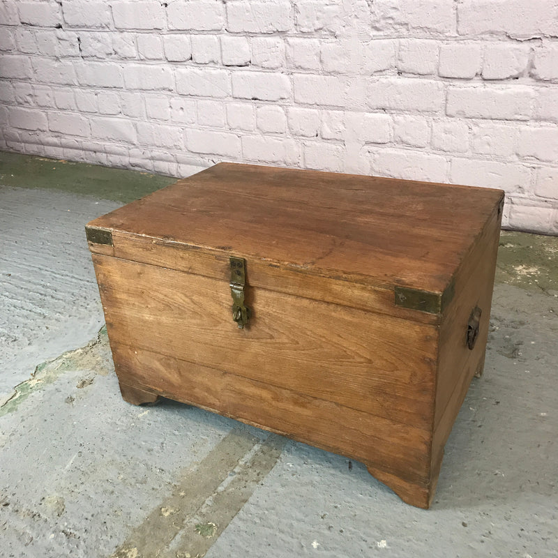 RUSTIC ANGLO INDIAN CHEST