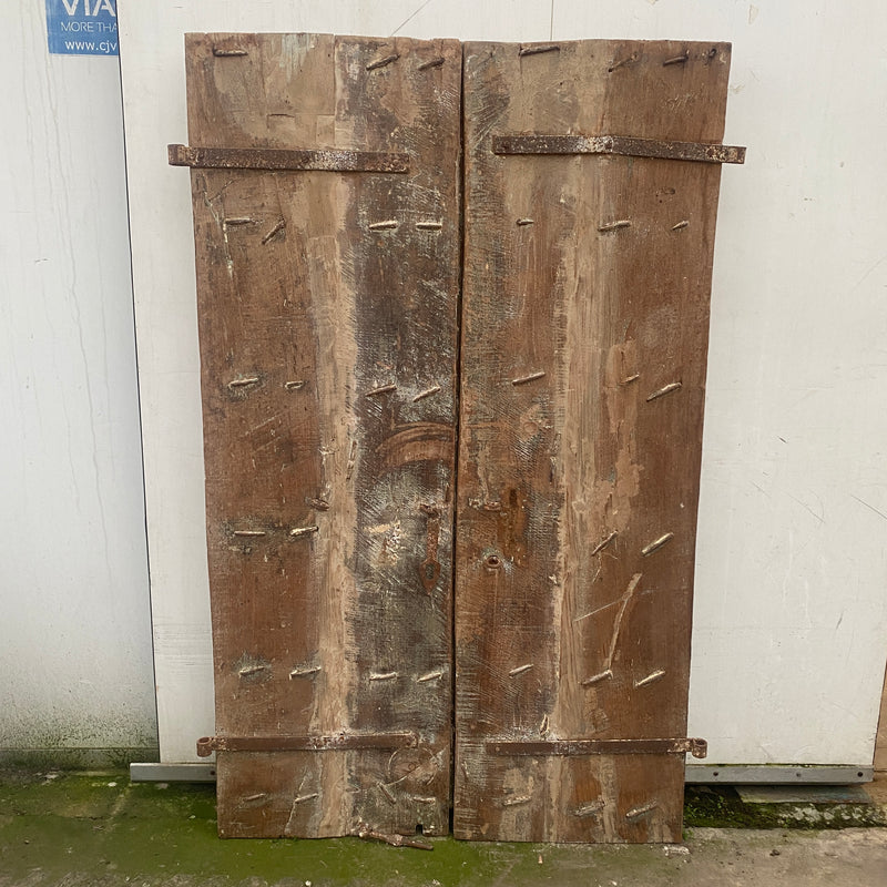 ANTIQUE INDIAN TEMPLE DOOR | H170CM • W118CM