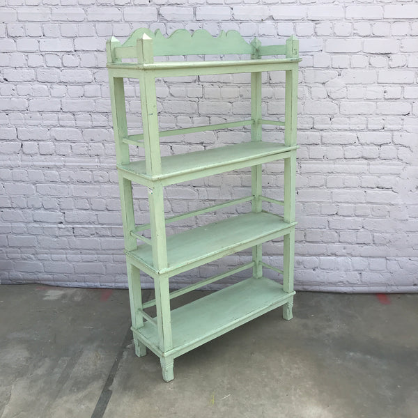 VINTAGE ANGLO INDIAN BOOKCASE | H160CM W91CM