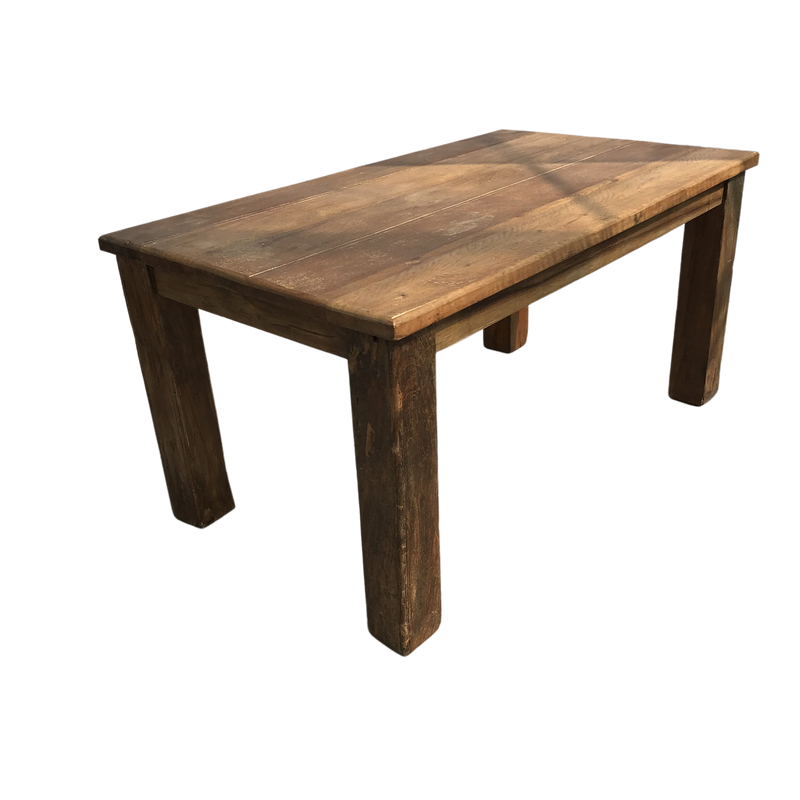 TEAK DINING TABLE (W160CM | H70CM)