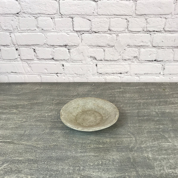 Vintage hand crafted marble bowl | ø26cm | 45133