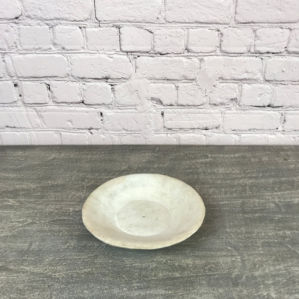 Vintage hand crafted marble bowl | ø28cm | 45133a