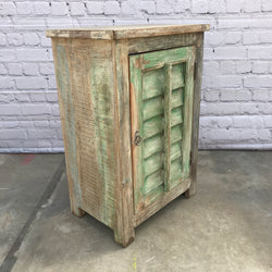 RECLAIMED TEAK WOOD CABINET