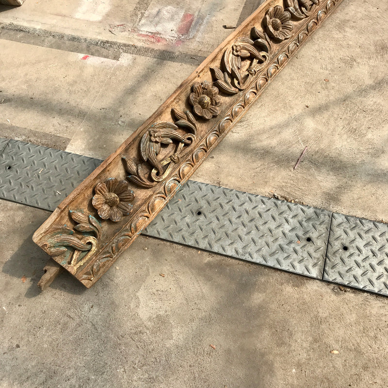 Decorative Indian carved cornice