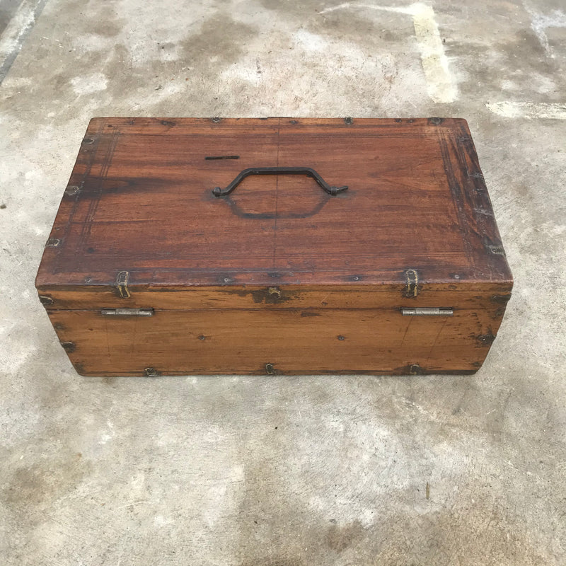 VINTAGE INDIAN MERCHANTS BOX (W48CM | H18CM)