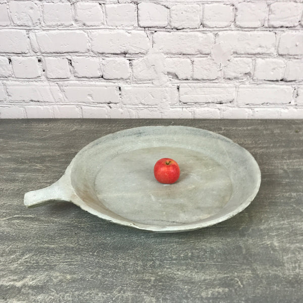 Vintage hand crafted marble bowl | ø51cm | 10194e