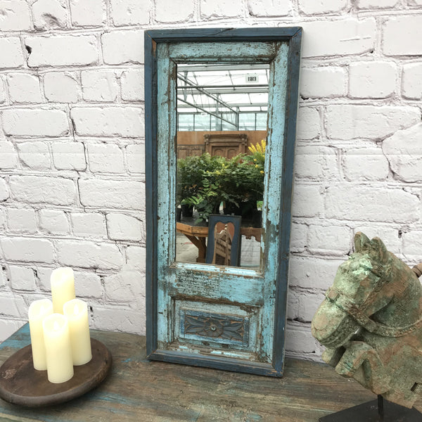 Vintage upcycled window mirror | 22 X