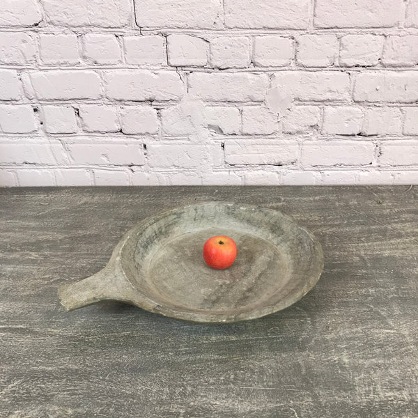 Vintage hand crafted marble bowl | ø41cm | 25494b