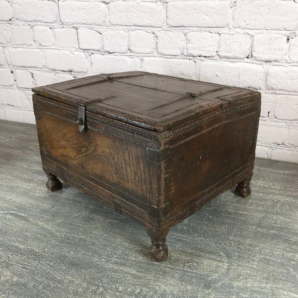 Antique tribal dowry box