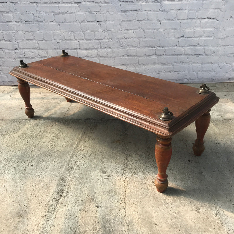 VINTAGE INDIAN SWING COFFEE TABLE (W147CM | H47CM)