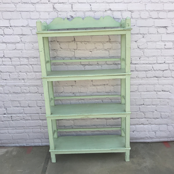 Vintage Indian painted shelf