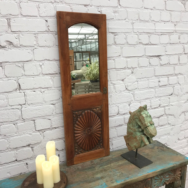 UPCYCLED CUPBOARD DOOR MIRROR (99CM | W33CM)