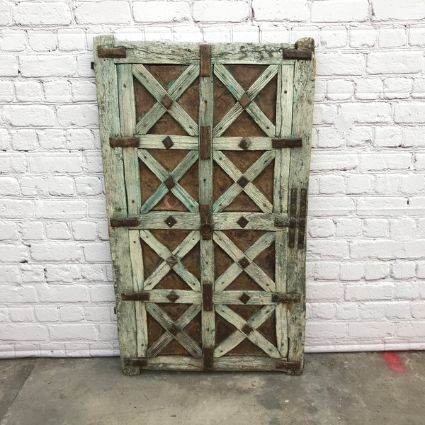 VINTAGE INDIAN TRIBAL WINDOW SHUTTER/ GATE