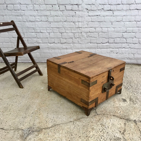 Vintage Military Chest/ Coffee table