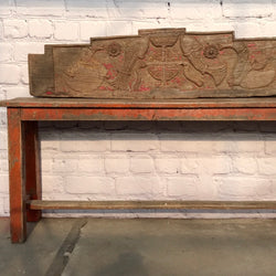 VINTAGE INDIAN HEADBOARD PANEL (W120CM | H28CM)