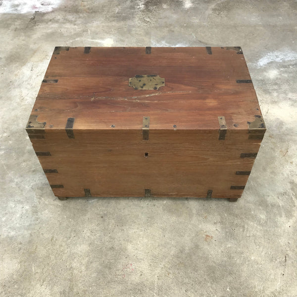 Vintage Indian Dowry Chest