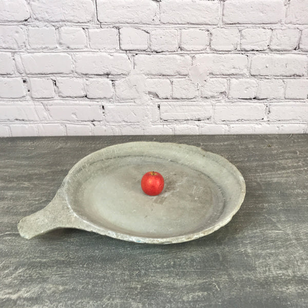 Vintage hand crafted marble bowl | ø48cm | 10194b