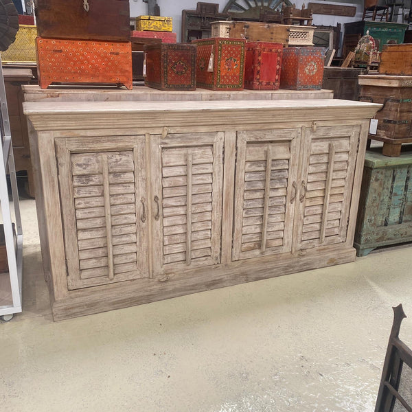 HAND CRAFTED LOUVRE STYLE SHUTTER SIDEBOARD (W180CM | H95CM)