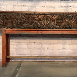 ANTIQUE CARVED ARCHITECTURAL PANEL