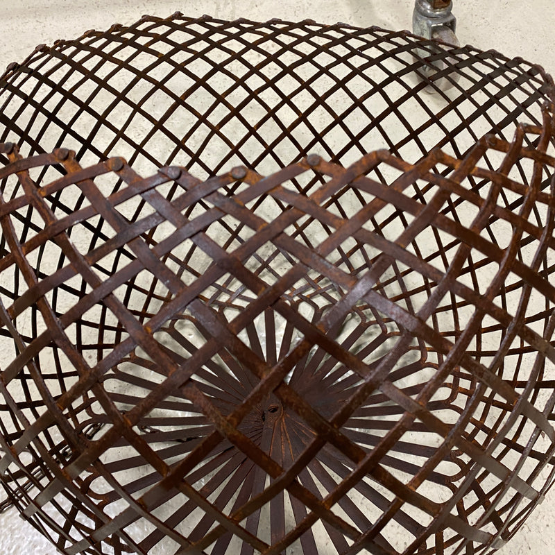 INDUSTRIAL METAL LATTICE LIGHT PENDANT SHADE ONLY