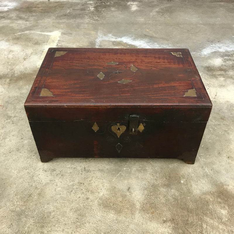 Vintage Indian Jewellery dowry chest